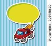 truck  cartoon speech icon | Shutterstock . vector #308458610