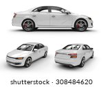 Stock photo white d car 308484620