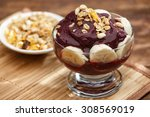 acai fruit amazon in the bowl | Shutterstock . vector #308569019