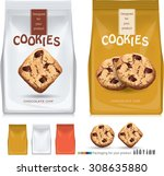 design packaging for chocolate... | Shutterstock .eps vector #308635880
