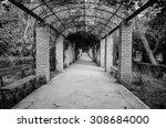 vanishing path. athens national ... | Shutterstock . vector #308684000
