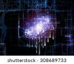 networking randomness series.... | Shutterstock . vector #308689733
