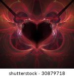 abstract background. red... | Shutterstock . vector #30879718