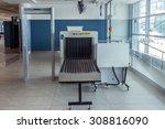 airport security metal detector ...