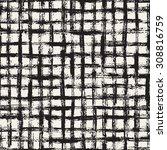 vector seamless pattern.... | Shutterstock .eps vector #308816759