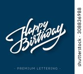 Happy Birthday Brush Script...