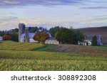 Amish Farm In Lancaster County...