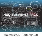 abstract future  concept vector ... | Shutterstock .eps vector #308892368