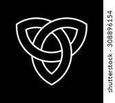 celtic knot   Shutterstock .eps vector #308896154