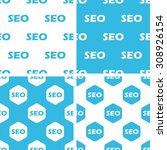 seo patterns set  simple and...