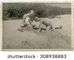 Vintage Photo Of Mother Playing ...