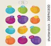modern vector lillustration of... | Shutterstock .eps vector #308961830
