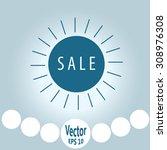sale | Shutterstock .eps vector #308976308