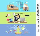 psychological human mental... | Shutterstock .eps vector #308986730