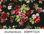 vintage style of tapestry... | Shutterstock . vector #308997224