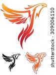 phoenix mascot | Shutterstock .eps vector #309006110