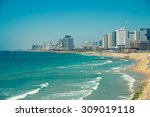 View Of The Modern Tel Aviv...