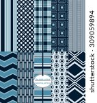 repeating patterns for digital... | Shutterstock .eps vector #309059894