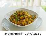 hot and spicy potatoes | Shutterstock . vector #309062168