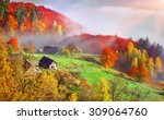 Colorful Autumn Landscape In...