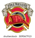 Fire Department Maltese Cross...