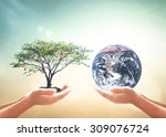 medical research concept  two...   Shutterstock . vector #309076724