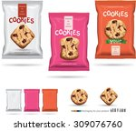 design packaging for chocolate... | Shutterstock .eps vector #309076760