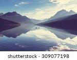 Serenity Bowman Lake Glacier...