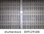 defocused and blur folding old... | Shutterstock . vector #309129188