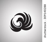 hawk logo | Shutterstock .eps vector #309140288