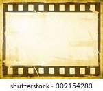 great film strip for textures... | Shutterstock . vector #309154283