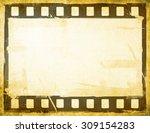 great film strip for textures... | Shutterstock . vector #309154283