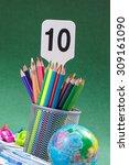 back to school concept | Shutterstock . vector #309161090