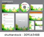 color corporate identity... | Shutterstock .eps vector #309165488