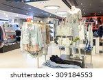 hong kong   june 01  2015  new... | Shutterstock . vector #309184553