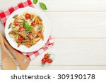 Colorful Penne Pasta With...