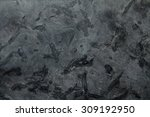 dark grey matrix stone texture... | Shutterstock . vector #309192950