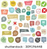 modern badges collection | Shutterstock .eps vector #309196448