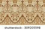 seamless texture with luxury... | Shutterstock .eps vector #309205598