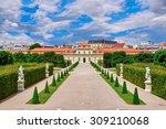 lower belvedere vienna  austria ... | Shutterstock . vector #309210068