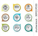 badges collection | Shutterstock .eps vector #309219533