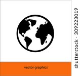 icon world | Shutterstock .eps vector #309223019