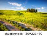 Beautiful Landscape In Tuscany...