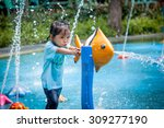 Child Little Girl Having Fun T...