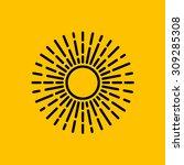 abstract flat design concept... | Shutterstock .eps vector #309285308