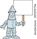Cartoon Illustration Of A Tin...