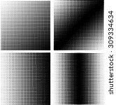 design element. black and white ... | Shutterstock .eps vector #309334634