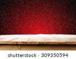 Red Xmas Background Space And...