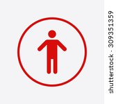 human male sign icon. man...