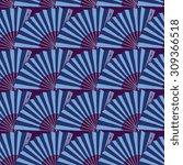 vector japan fan abstract... | Shutterstock .eps vector #309366518